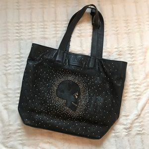 Extremely Rare Frye Skull Studded Tote